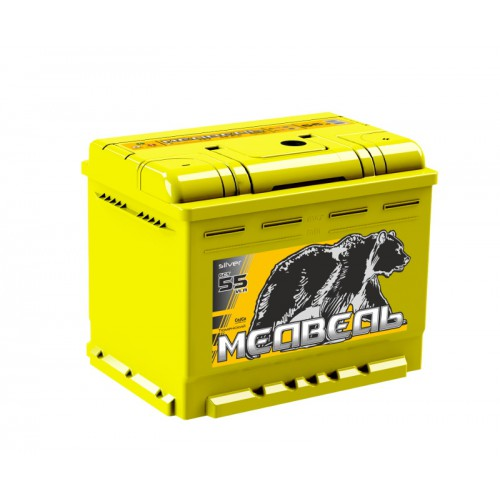 Автомобильный аккумулятор Тюменский медведь 6СТ 55 VLA обратная полярность