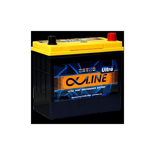 Автомобильный аккумулятор AlphaLine Ultra 59 Ач (UMF75B24L)