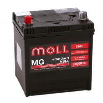Moll MG Asia 55 ач пп короткий