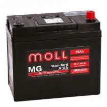 Moll MG Asia 55 ач пп тонк.кл.