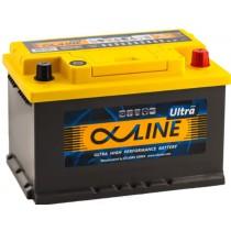AlphaLine Ultra 74 ач оп низкий