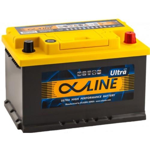 Аккумулятор AlphaLine Ultra 74 ач оп низкий