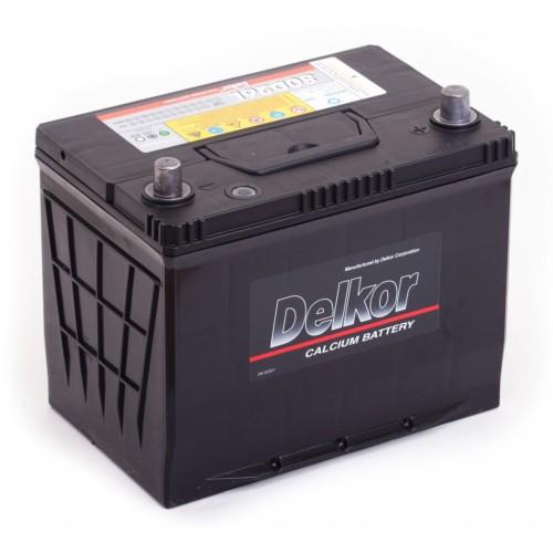Аккумулятор Delkor 75 ач оп 80D26L
