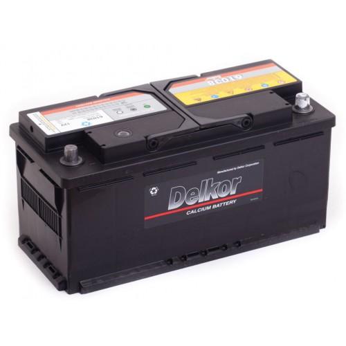 Аккумулятор Delkor 110 ач оп (61038)