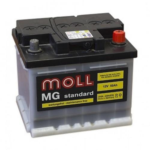 Аккумулятор Moll MG Standard 55 ач оп короткий