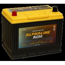 Аккумулятор Alphaline AGM 75 ач пп (D26R)