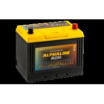 Аккумулятор Alphaline AGM 75 ач оп (D26L)