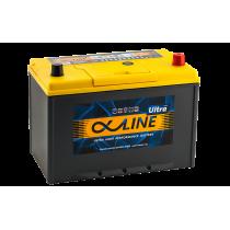 Аккумулятор AlphaLine Ultra 105 ач оп (135D31L)