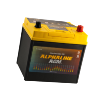 Аккумулятор Alphaline AGM 60 ач оп (D23L)