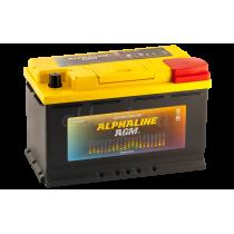 Аккумулятор Alphaline AGM 80 ач оп