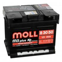 Аккумулятор Moll M3Plus K2 50 ач оп