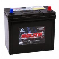 Аккумулятор Solite Silver 59 ач оп (70B24L) тонкие клеммы