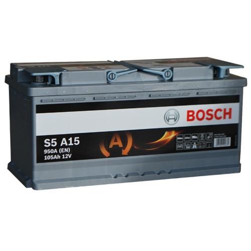 Аккумулятор Bosch AGM Start Stop 105 ач оп (S5 A15 605901095)
