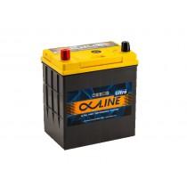 Аккумулятор AlphaLine Ultra 50 ач оп тонкие клеммы (55B19L)
