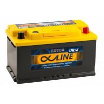 Аккумулятор AlphaLine Ultra 80 ач оп низкий