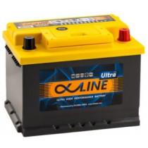 Аккумулятор AlphaLine Ultra 62 ач оп низкий